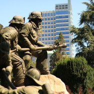 Photo by Ed Glavis - The Firefighters Memorial