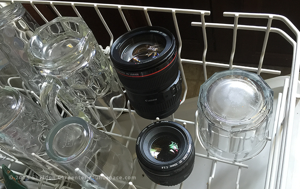 Keeping your camera lenses clean